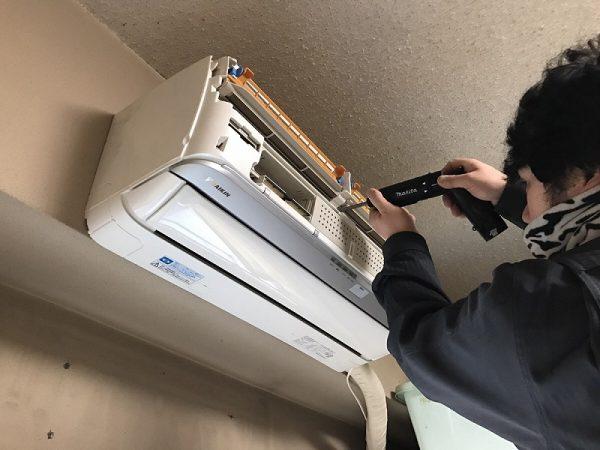 家庭用エアコンクリーニングの標準作業内容