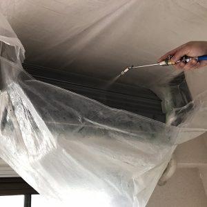 エアコンクリーニング分解洗浄