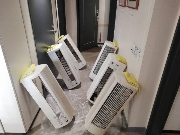ホテル エアコンクリーニング