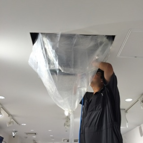 京都市下京区 業務用エアコンクリーニング、カーペットクリーニング (会社様)