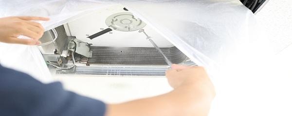 法人のお客様!京都・滋賀の業務用エアコン洗浄はお任せ!最大1日40台施工可能