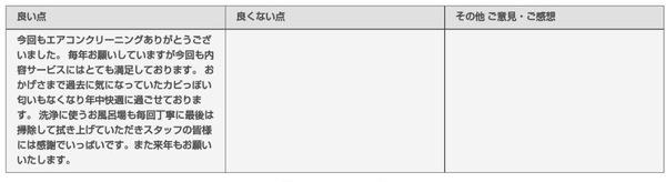 【口コミ・評判】京都市伏見区 エアコン掃除4台(富士通製、日立製)