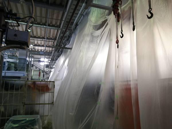 京都市伏見区 高所清掃・除塵作業 (工場様)
